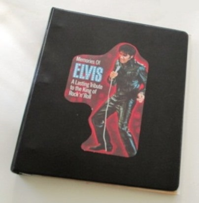 Elvis Fan Scrapbook Cover