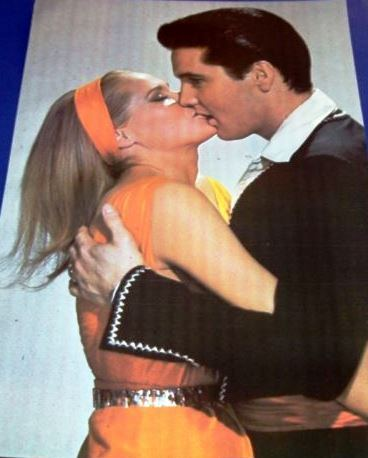 Elvis Kissing Ursula in Fun in Acapulco