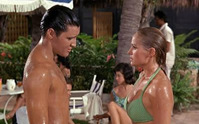 Elvis and Checking Out Ursula in Fun in Acapulco