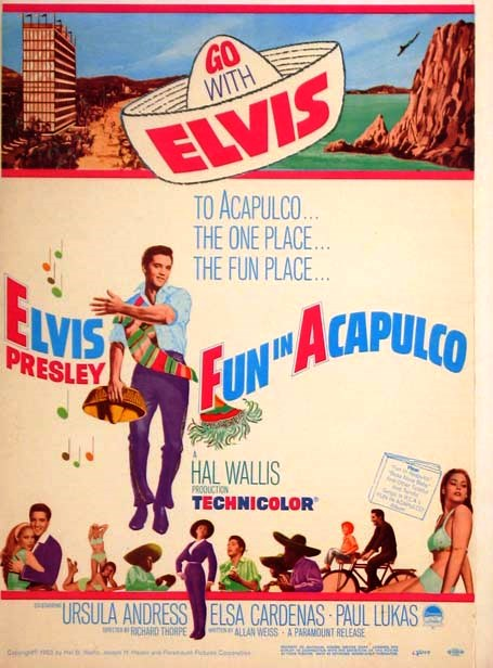 Fun in Acapulco Poster 1