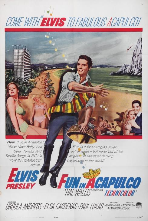 Fun in Acapulco Poster 2