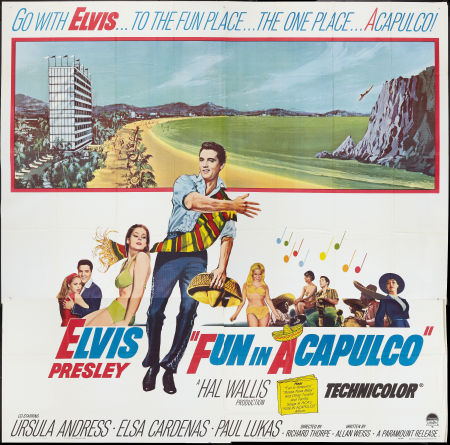 Fun in Acapulco Poster 3