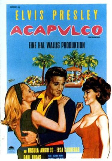 German Poster - Fun in Acapulco