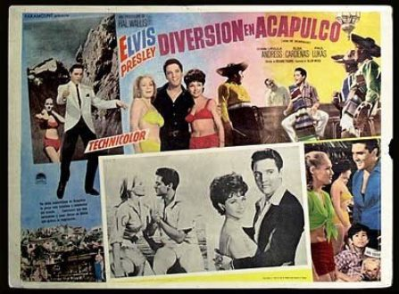 Mexican Lobby Cards - Fun in Acapulco