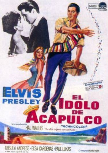 Spanish Poster - Fun in Acapulco