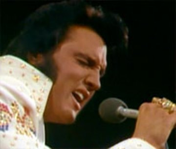 1973 Elvis Aloha Photo Basis for Stamp