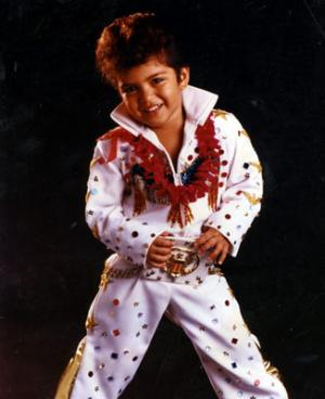 4 Year-Old Bruno Mars Doing Elvis