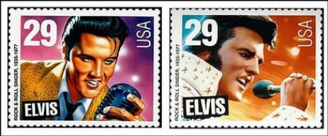 Both Designs for Elvis Stamp