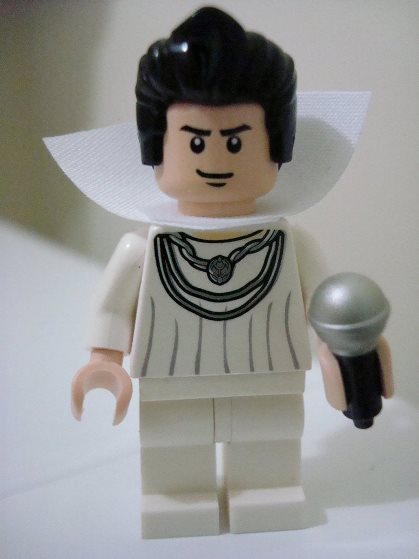 College Sweater Lego Elvis