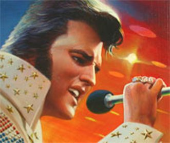 Drawing for Alternate Elvis Stamp