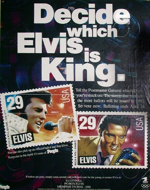 Elvis Stamp Balloting Poster