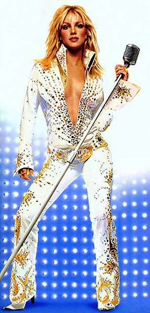 Britney Spears in Elvis Jumpsuit