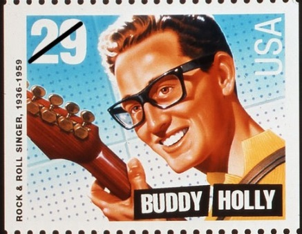 Buddy Holly Stamp