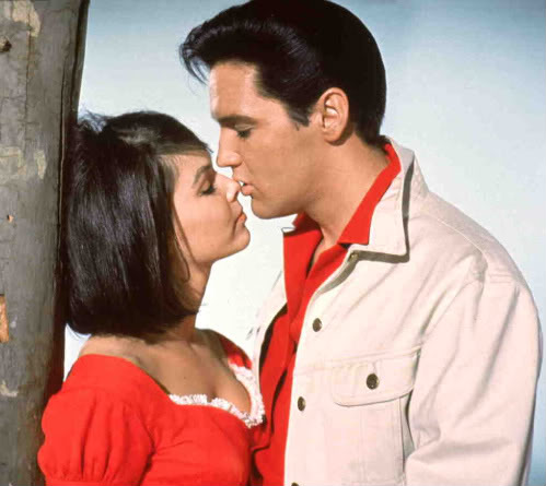 Elvis Kissing Yvonne in Kissin' Cousins