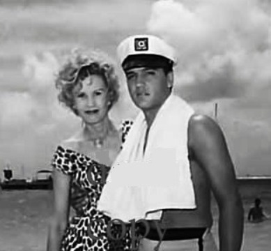 Elvis and May Mann