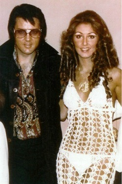 Linda Thompson See-Through Dress