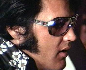 Elvis Wearing Classic Shades