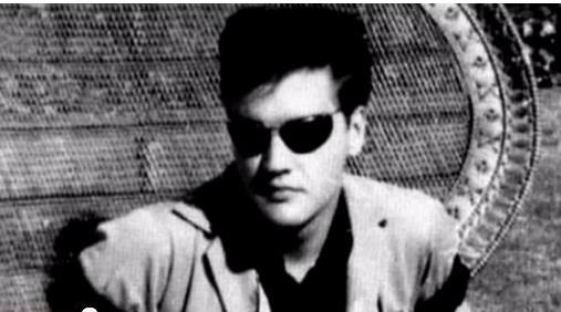 Elvis in Early Sunglasses