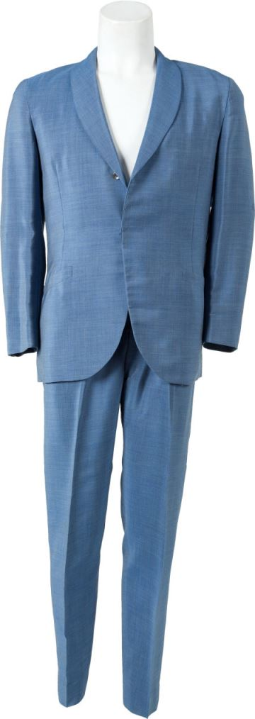 Elvis' Light Blue Suit Given to Bob Luman