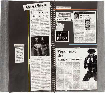 Elvis Metal Scrapbook -Inside