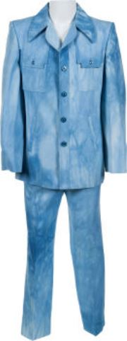 Elvis-Worn Blue Washed Suit