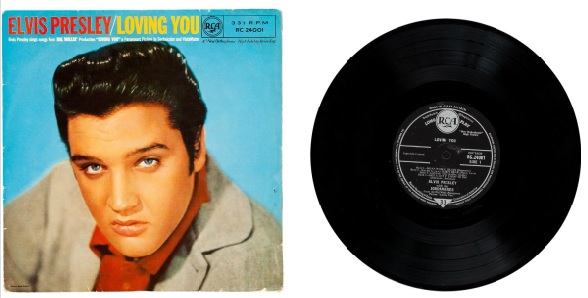 Elvis UK EP Loving You