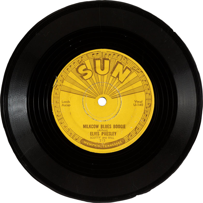 Mis-Pressed 45 Sun Single Milkcow Blues Boogie