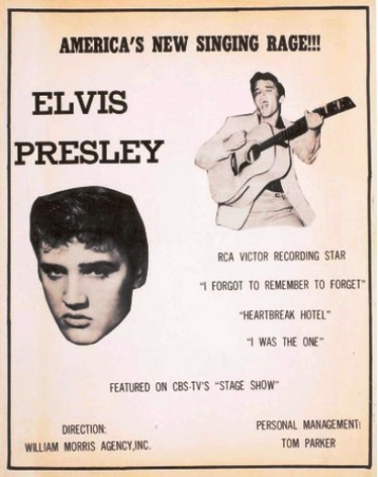 Elvis Poster from 1956l
