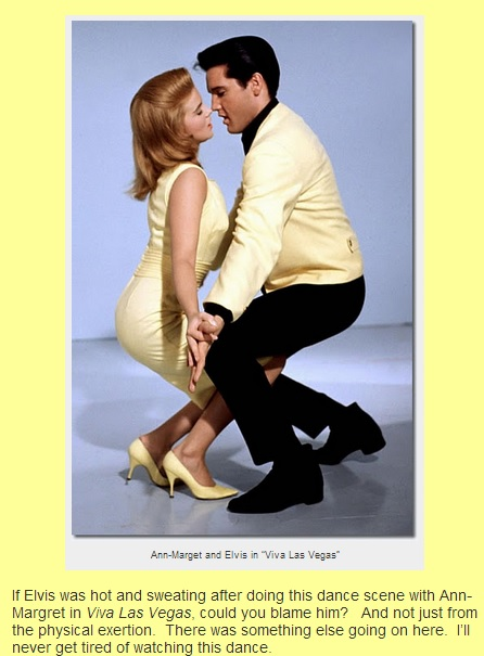 Elvis and Ann-Margret Dancing