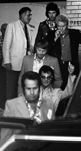 Elvis and Memphis Mafia Members