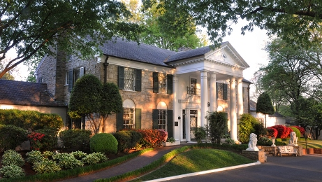 Graceland at Sunset