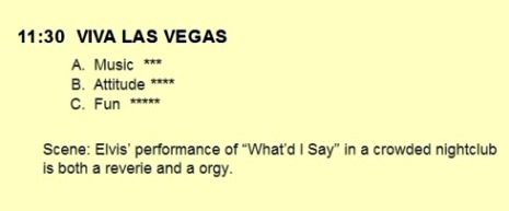 Ratings for Viva Las Vegas in Hollwood Rock