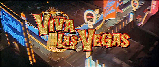 Viva Las Vegas on Screen Title