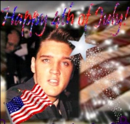 Soldier Elvis 4th of July
