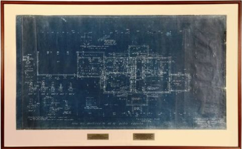 Blueprints for Graceland Upstairs