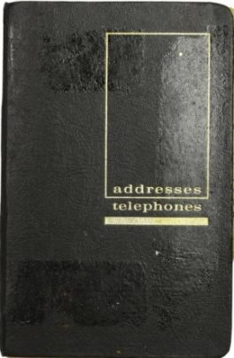 Elvis Address Book 2