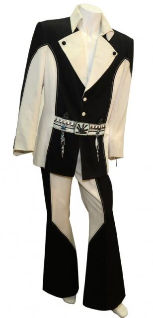"Elvis' Black and White ""Penguin"" Suit"