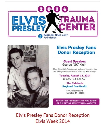 Elvis Presley Memorial Trauma Center Fan Reception