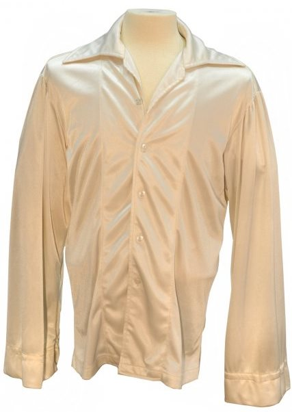 "Elvis' White ""Puffy Sleeve"