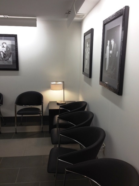 Waiting Room at Elvis Presley Memorial Trauma Center