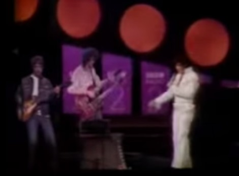 Jimmy Page and Elvis -- BBC2 Commercial