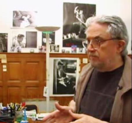 Al Wertheimer in his Office Surrounded by His Elvis Photos