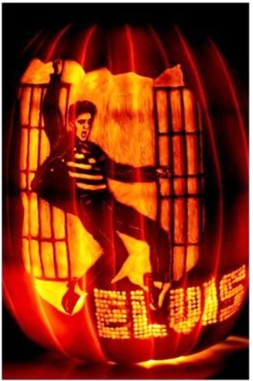 The elvis pumpkin decorating contest