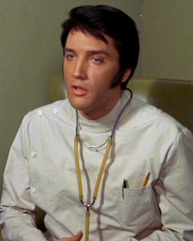 Elvis as Dr John Carpenter in Change of Habit