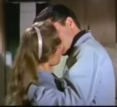 Elvis Kissing Joan Freeman in Roustabout