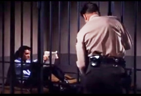 Elvis in Jail - Roustabout
