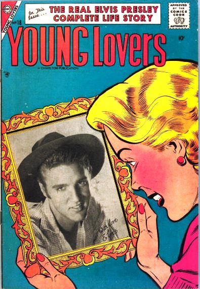 Elvis on Young Lovers Comics