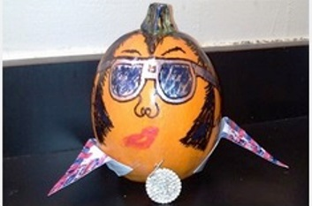 Graceland Elvis Pumpkin Contest Loser 5