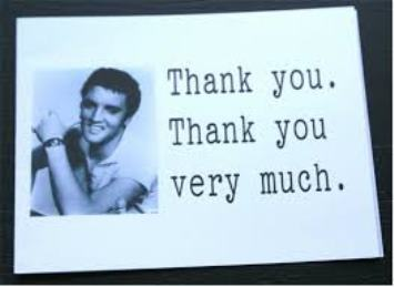 Elvis Thank You 1