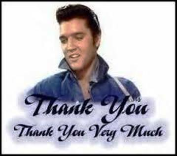 Elvis Thank You 13